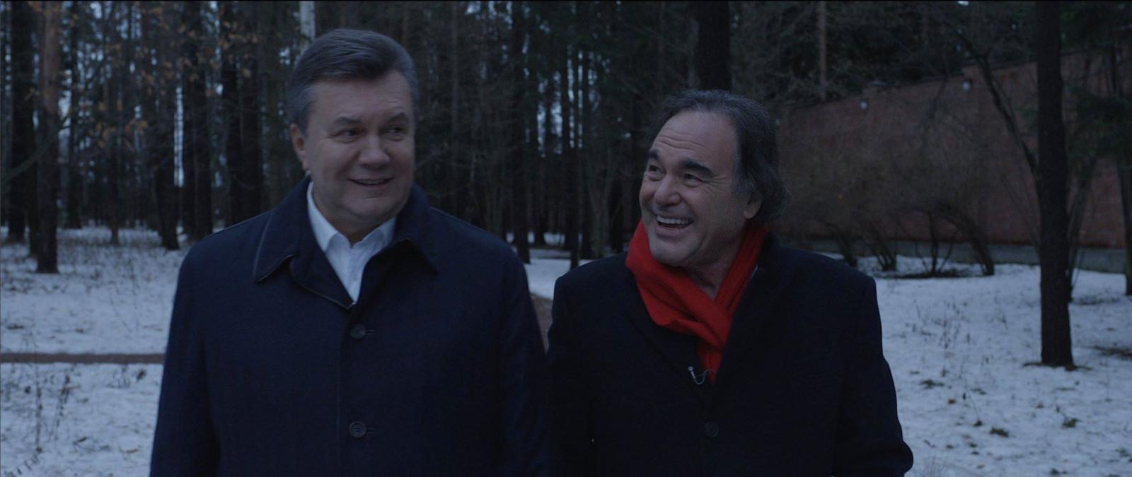 Viktor Yanukovych and Oliver Stone