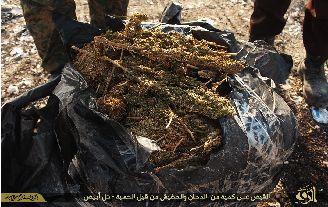 IS seize hash in Raqqa