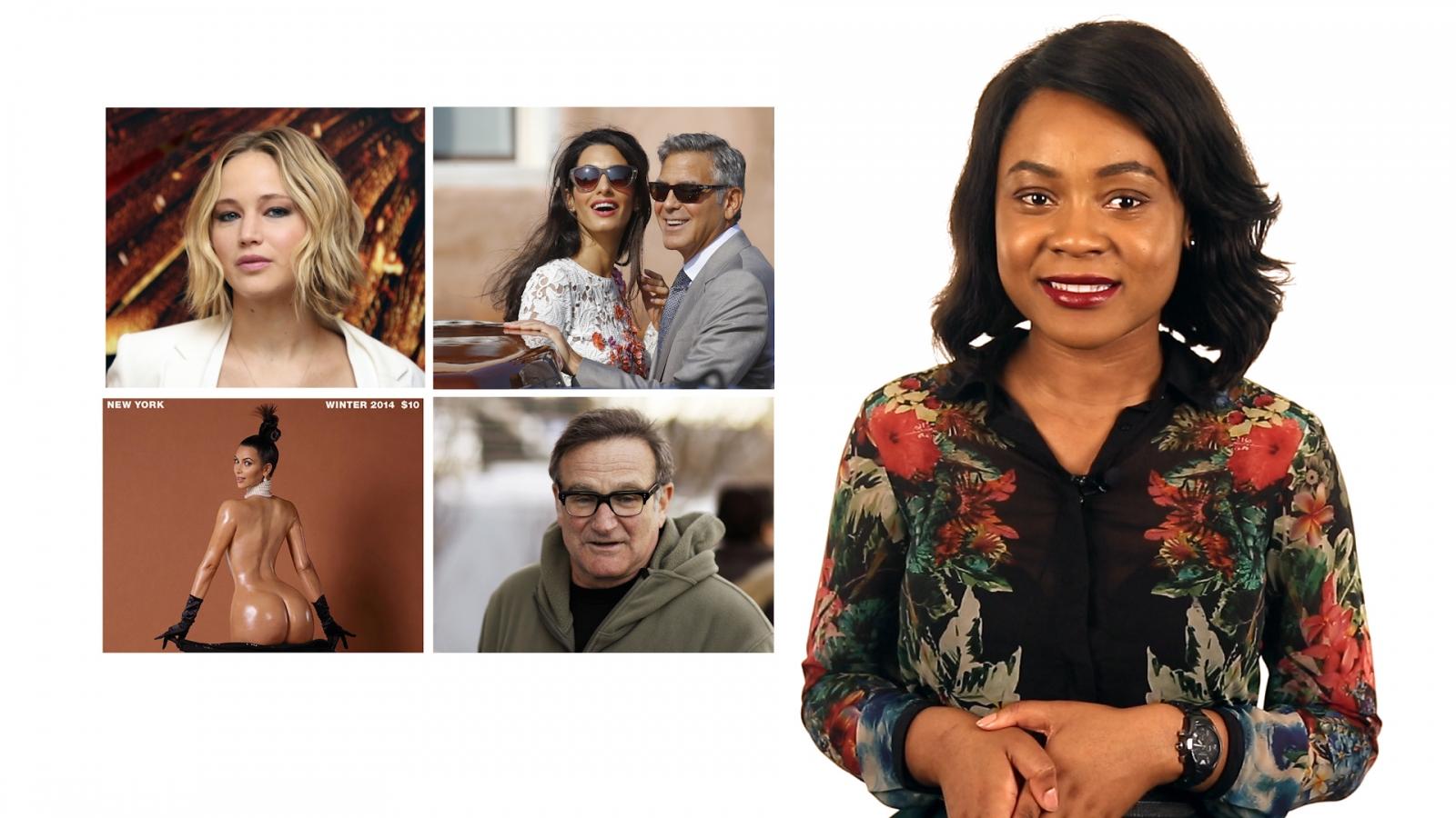 The biggest showbiz stories of 2014