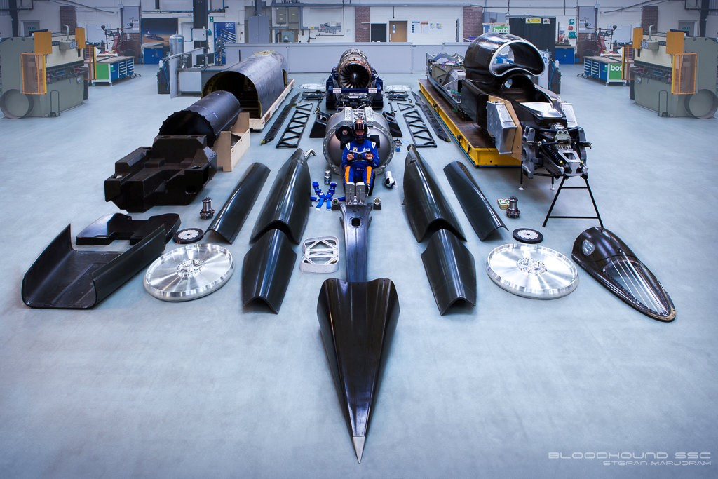 Bloodhound: the 1,000mph car – Britain's tech story of 2015 comes from a Bristol workshop