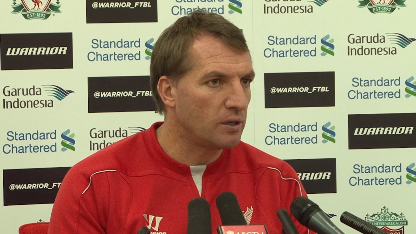 Brendan Rodgers plays down talk of Liverpool transfer spending in January