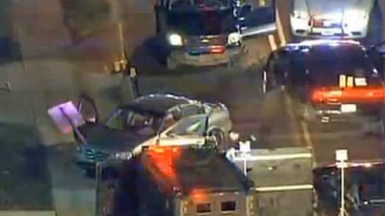 Man shot dead by police