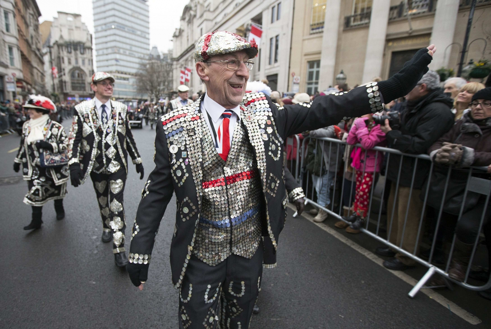 London kicks off 2015 with New Year's Day parade