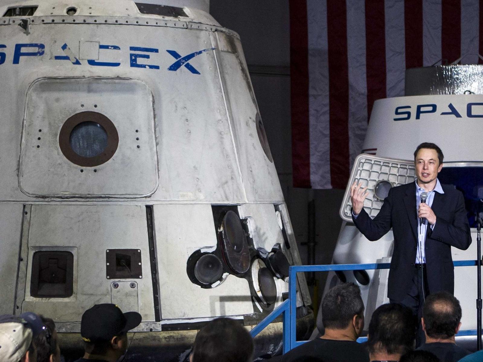 elon musk spacex rocket