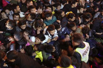 Shanghai stampede