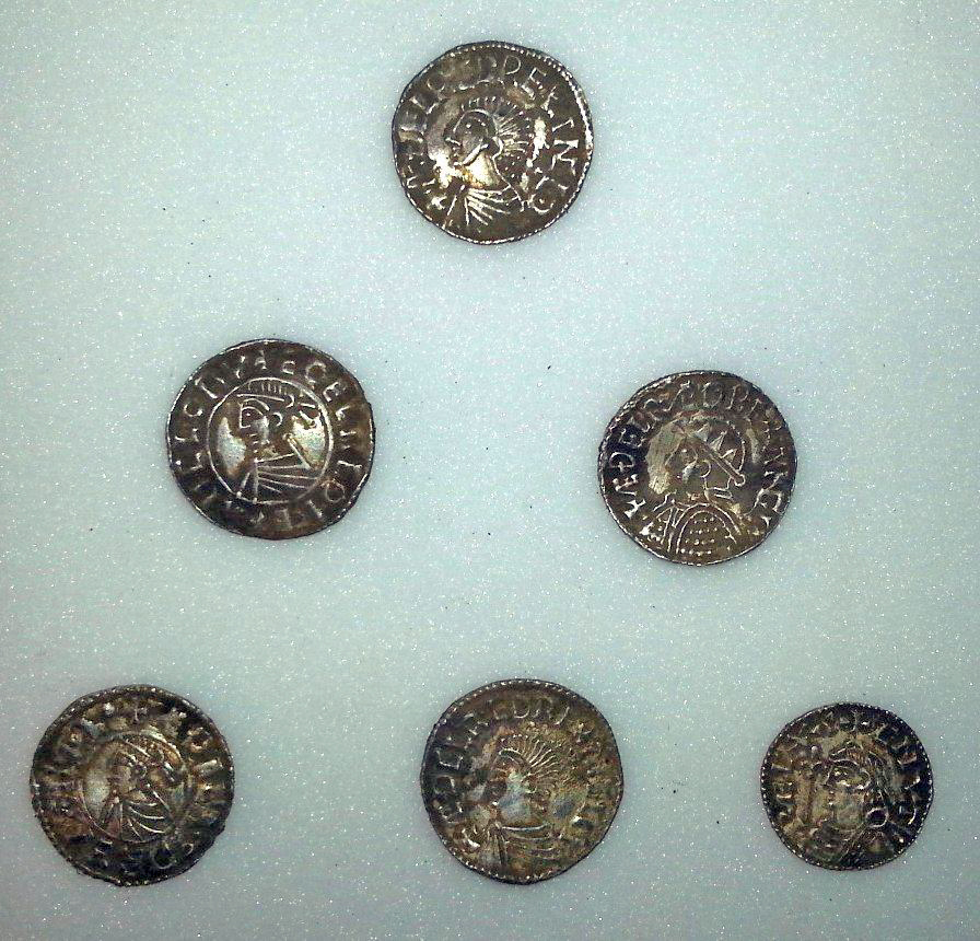One of the biggest ever hoards of Anglo Saxon silver coins has been found by metal detector enthusiasts in Buckinghamshire
