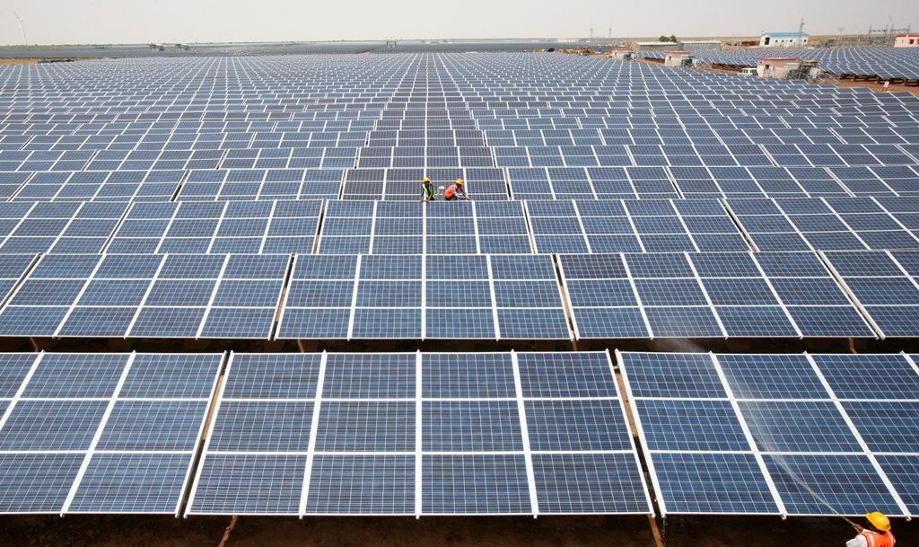 Solar Park Gujarat India