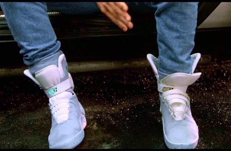 Power-lacing Nike trainers feature in Back to the Future II