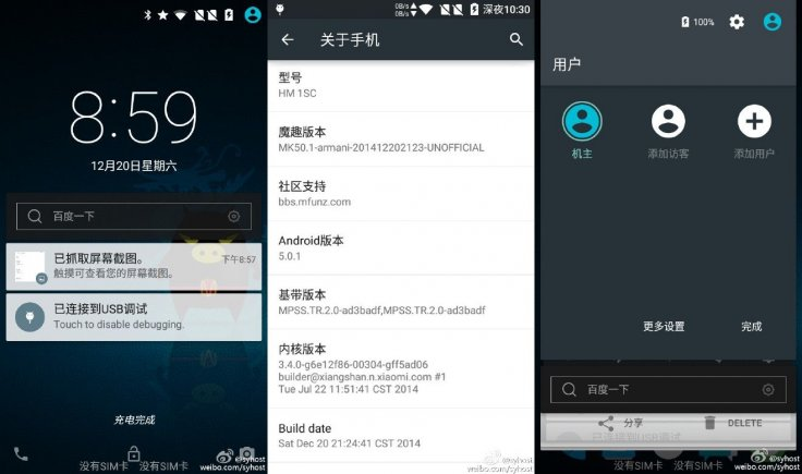 How to update Xiaomi Redmi 1S to Android 5 0 1 Lollipop with