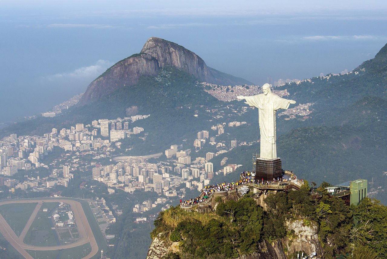 Christ The Redeemer : Scottish property developer finds jesus shaped rock when