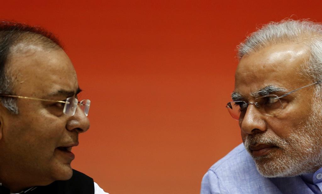 Arun Jaitley and Narendra Modi