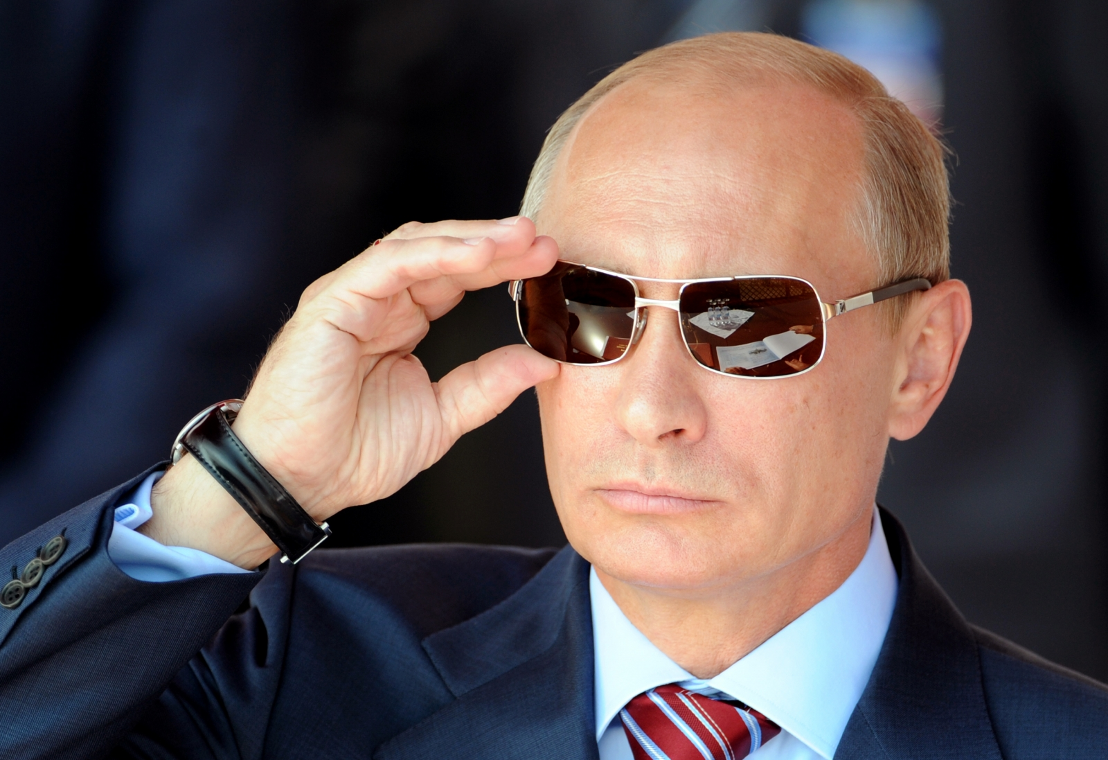 Russian president Vladimir Putin (Getty)