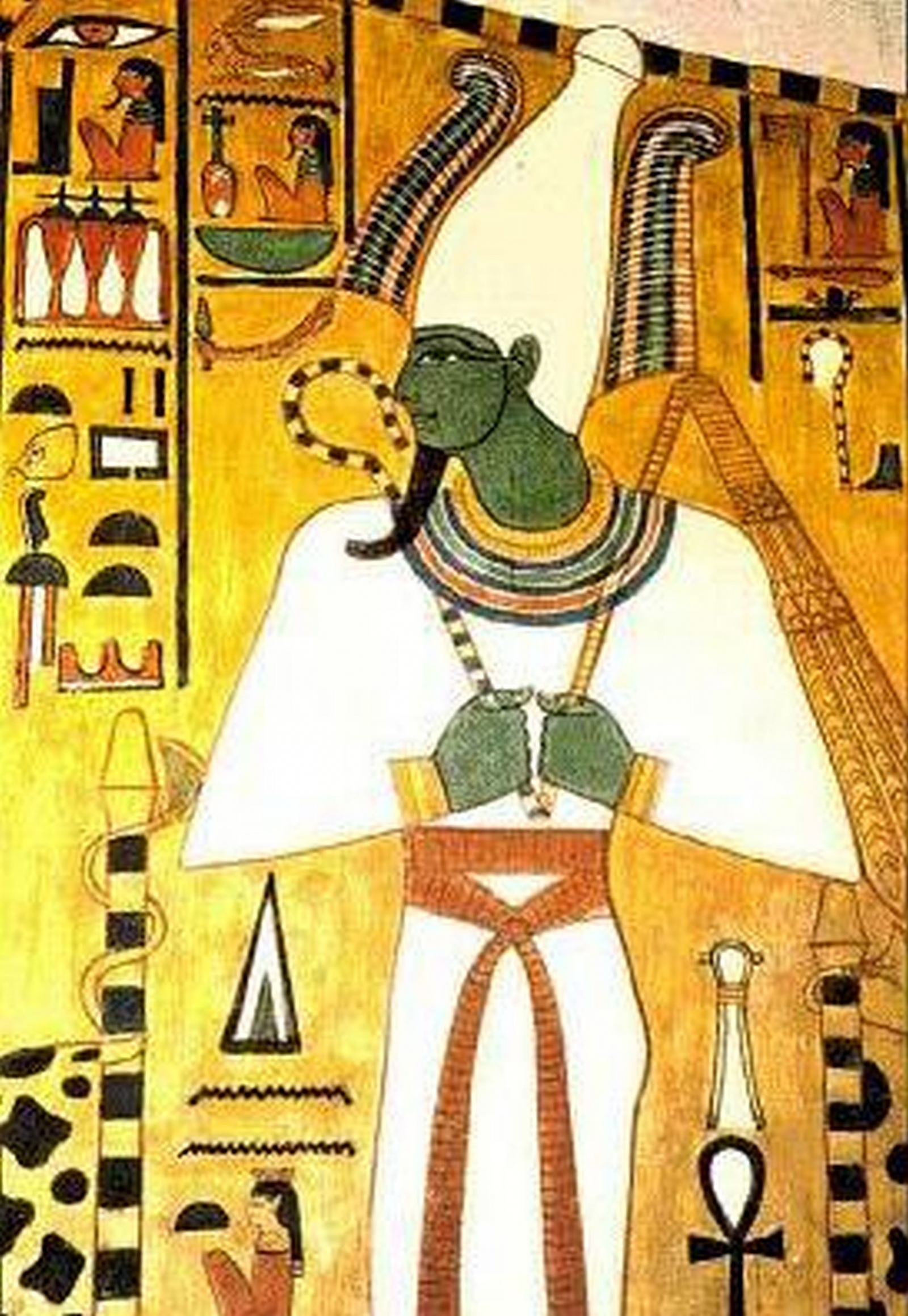 Osiris, god of the dead