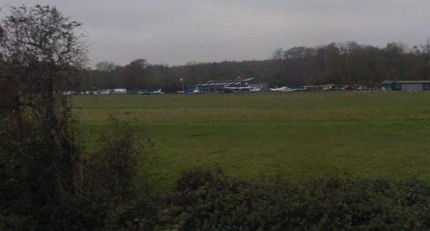 Hampshire plane crash