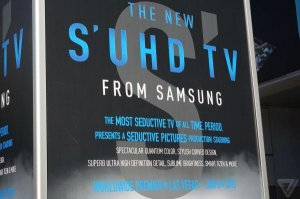 Samsung's S'UHD - the world's most seductive TV of all time