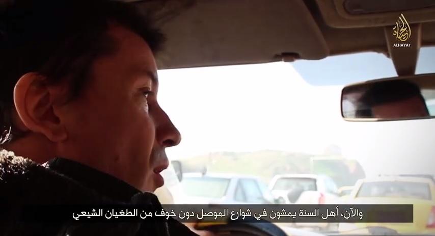John Cantlie Mosul video