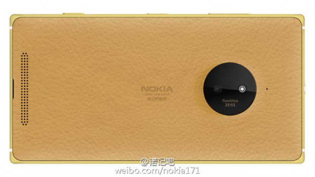 Microsoft Lumia 830 draped in Gold set to make debut on 8 January