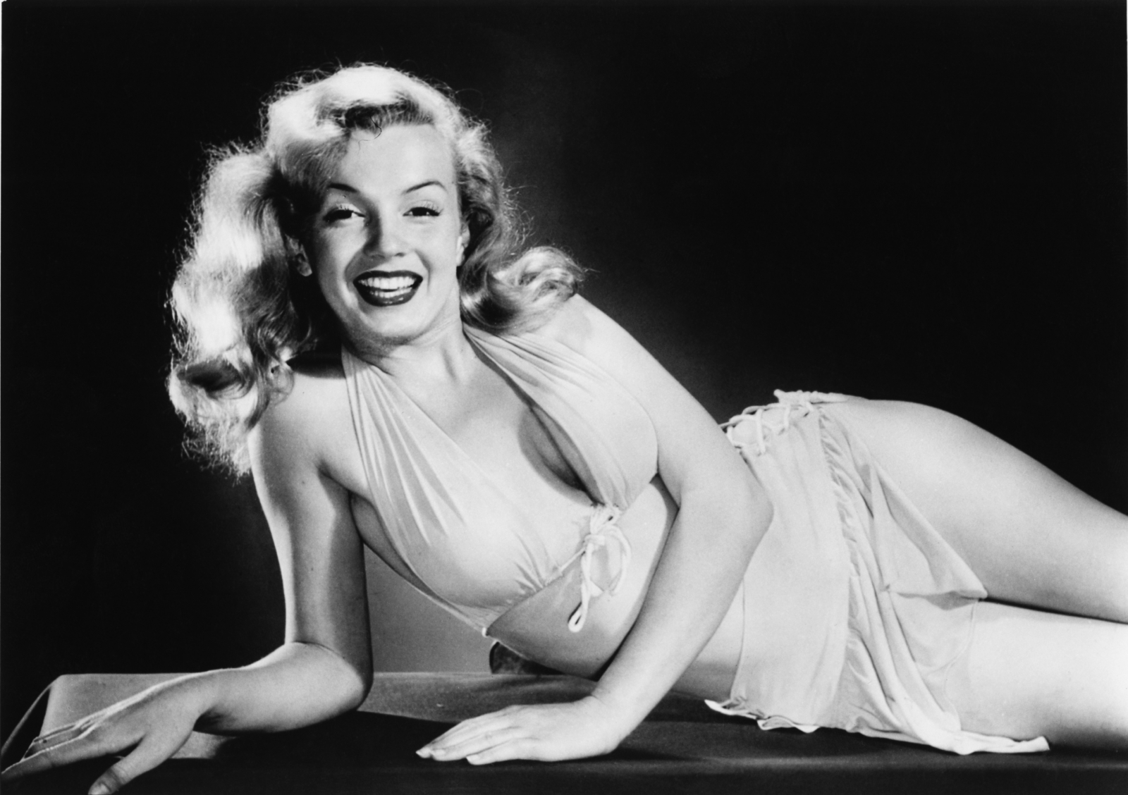 American actress Marilyn Monroe (1926 - 1962), circa 1950.