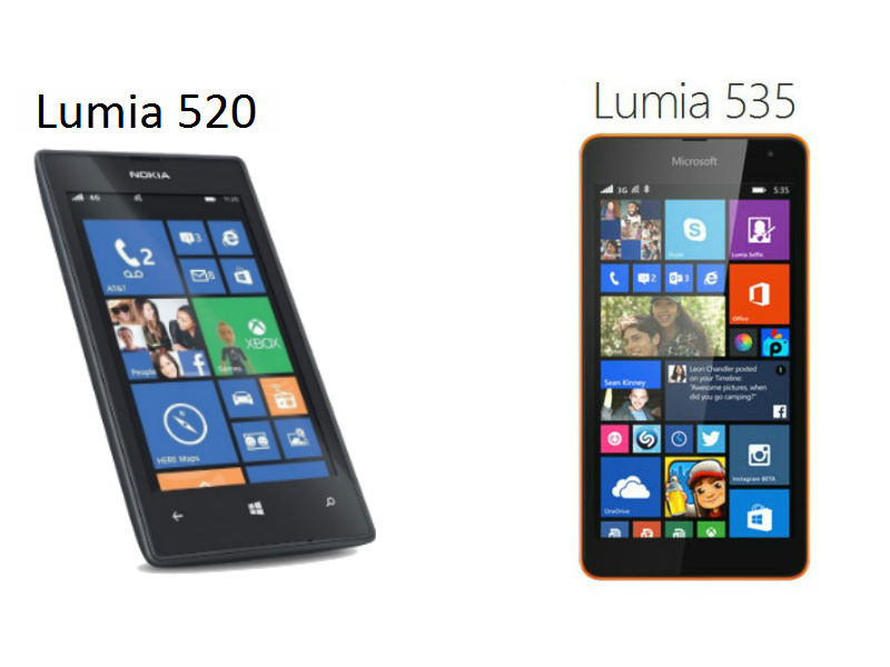 Lumia 535 vs Lumia 520: Battle of the budget Microsoft Lumias