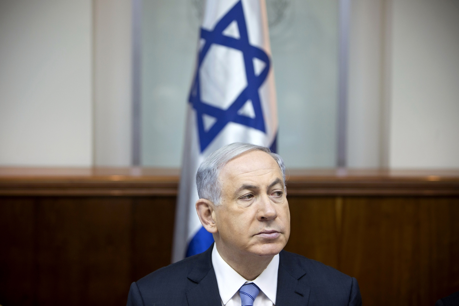 Israel's Prime Minister Benjamin Netanyahu has been accused of using the recent terror attacks for his own electoral campaign