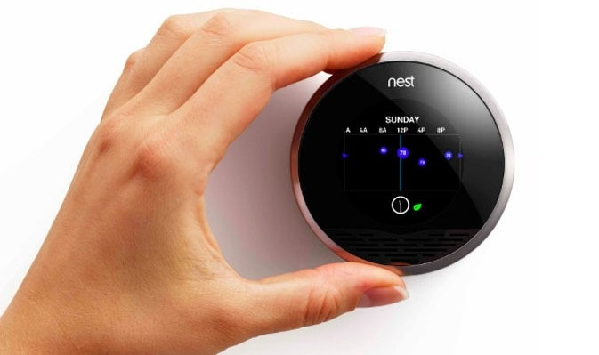 Nest smart home lights locks