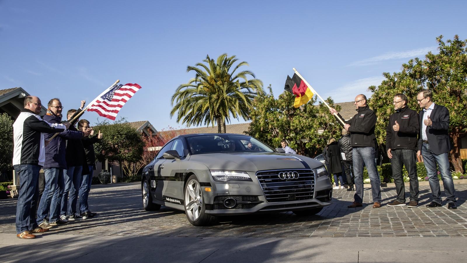 Autonomous Audi A7 Sportback