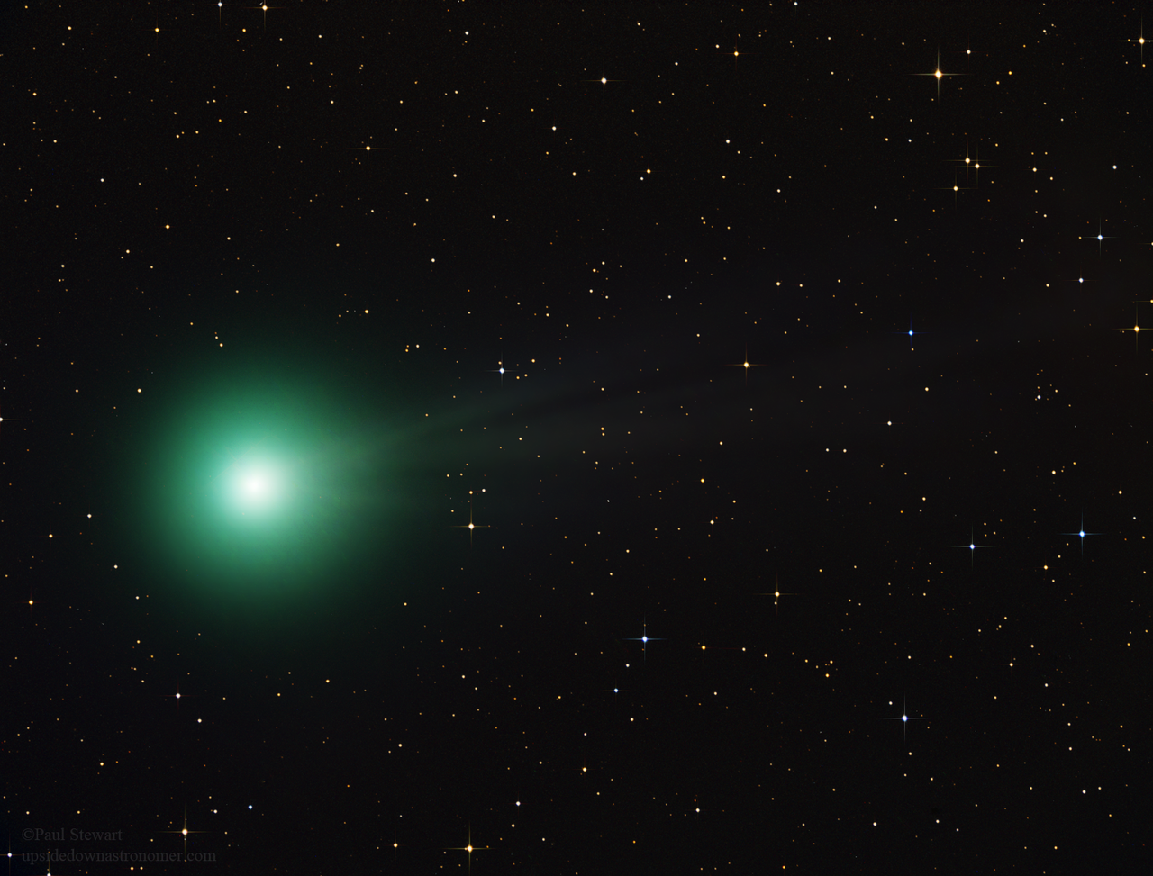 Comet lovejoy green