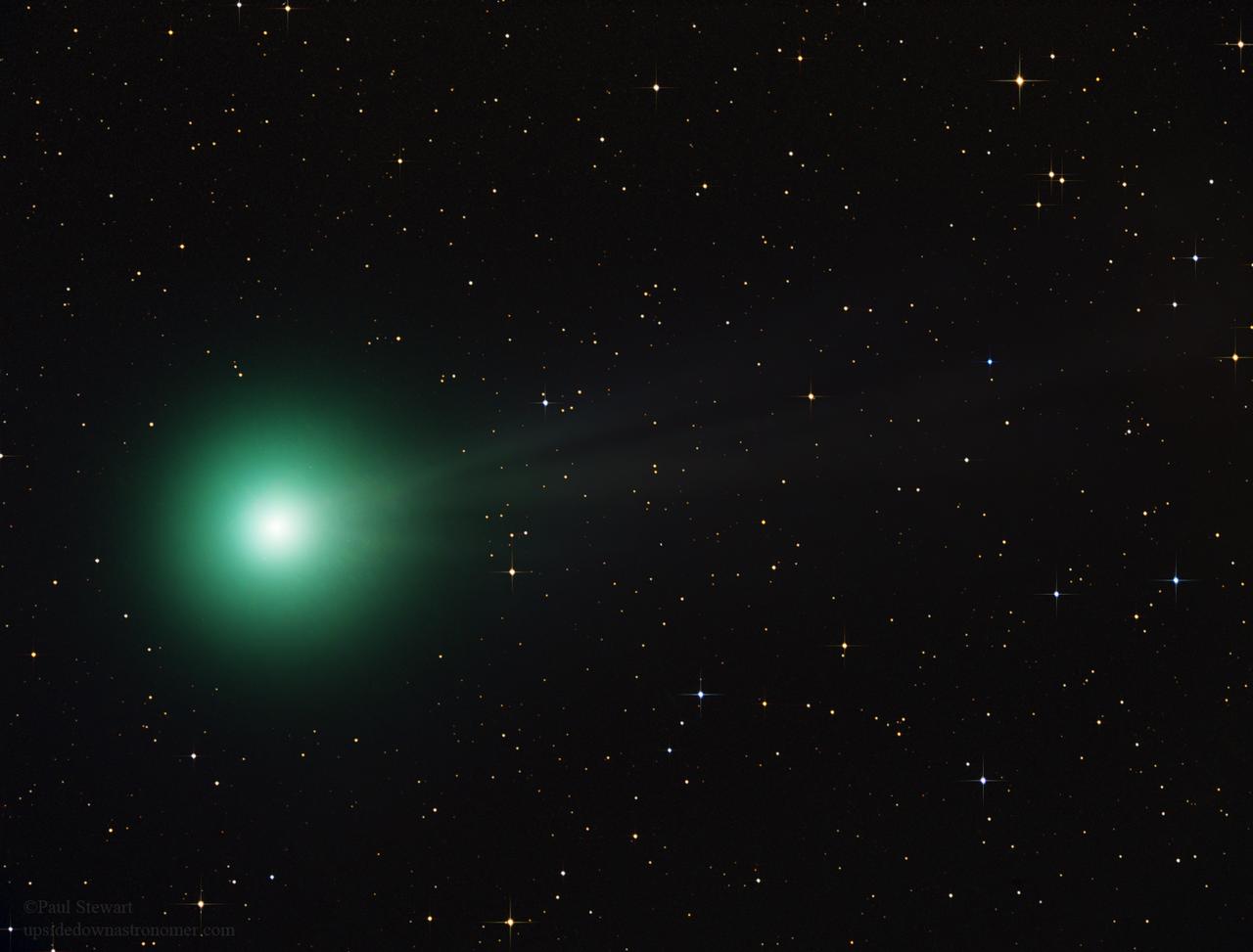 Comet lovejoy green