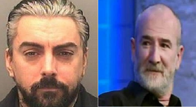 Paedo rocker Ian Watkins (left) and Mick Philpott have become prison buddies, claims source