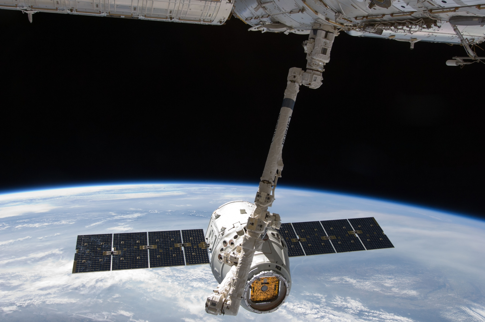 spacex falcon 9 iss NASA