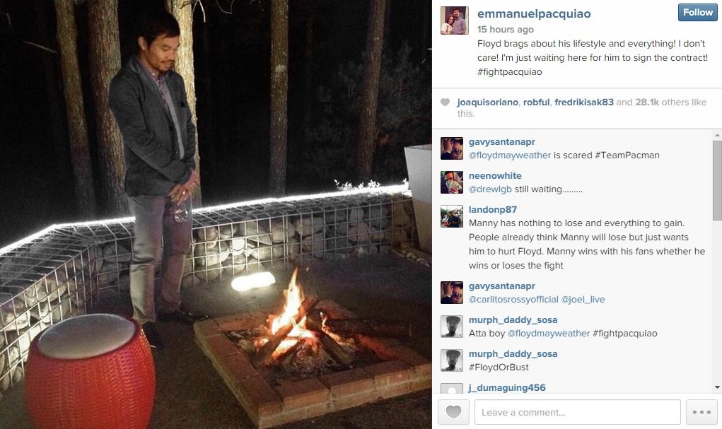 Pacquiao Instagram