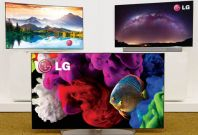 LG OLED 4K curved TV for 2015