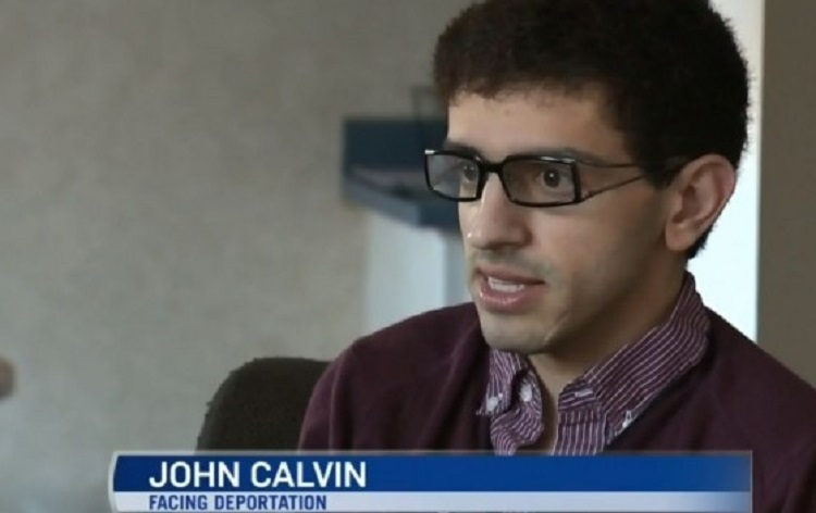 John Calvin faces deportation over links to Hamas