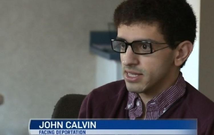 John Calvin faces deportation over links to Hamas