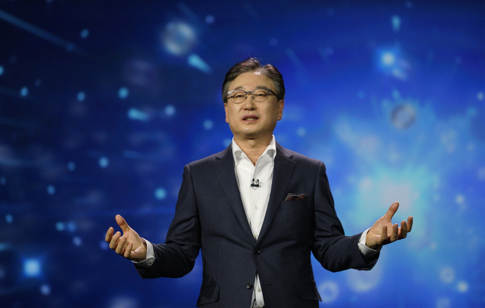 Samsung CEO BK Yoon talks a connected future
