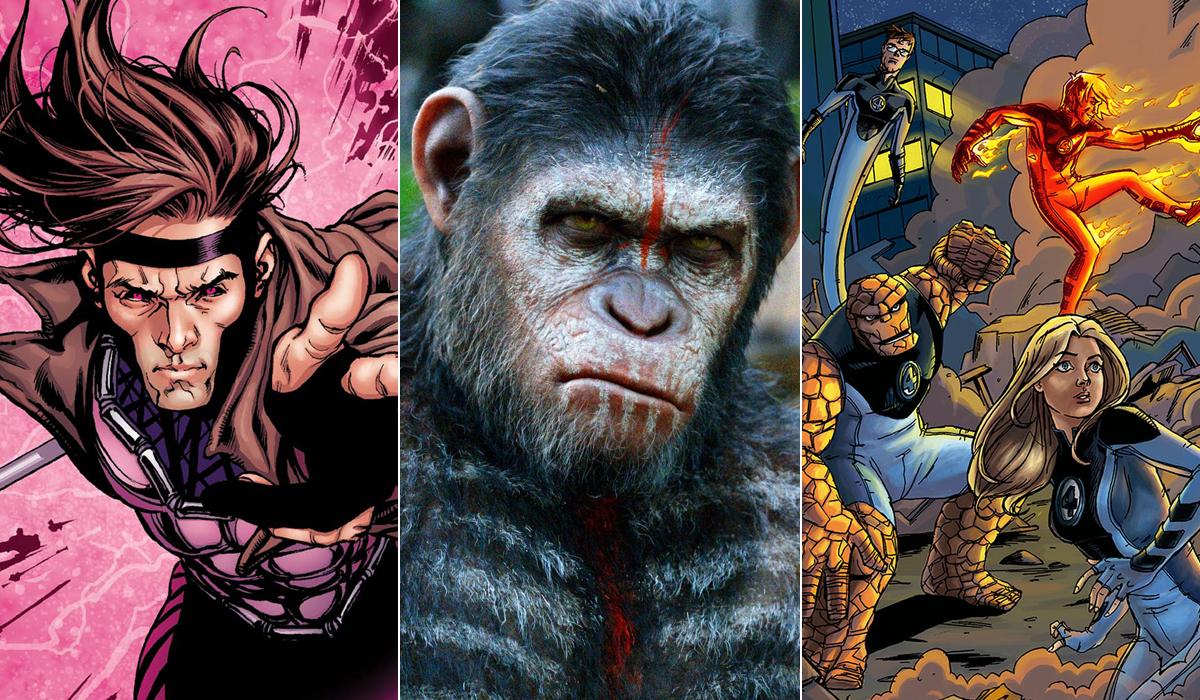 Fox Apes sequel Gambit Fantastic Four