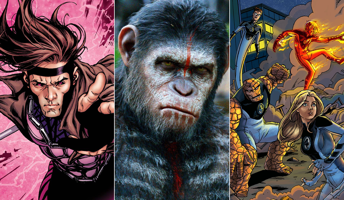 Fox Apes sequel Gambit Fantastic Four