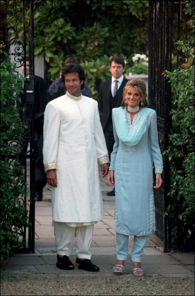 Imran Khan to critics of his BBC weather girl bride ...