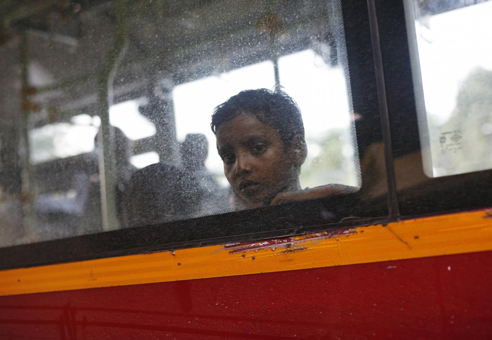 India bus crash