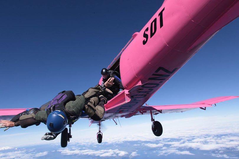 Skydive Taupo plane crash lake NZ