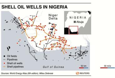 Niger Delta Oil Infrastructure