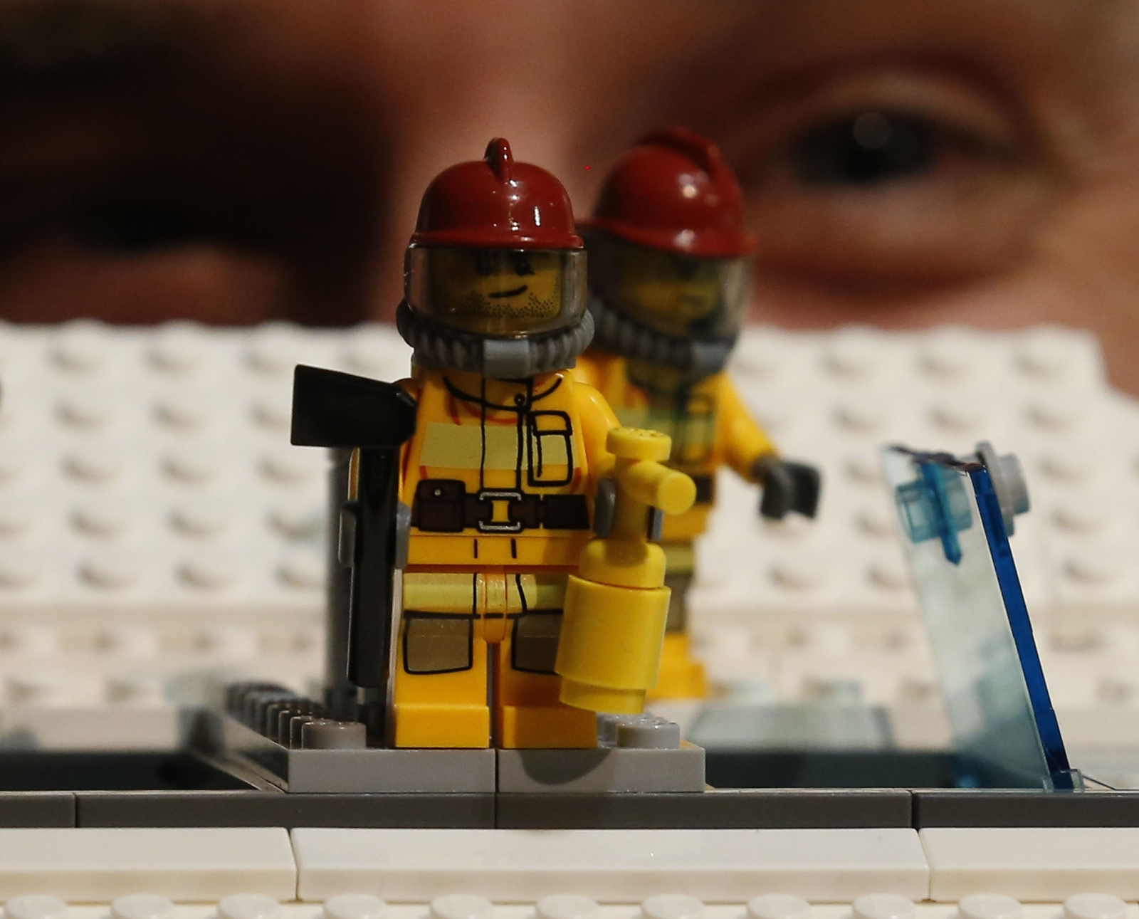 Lego eye tribe tracking