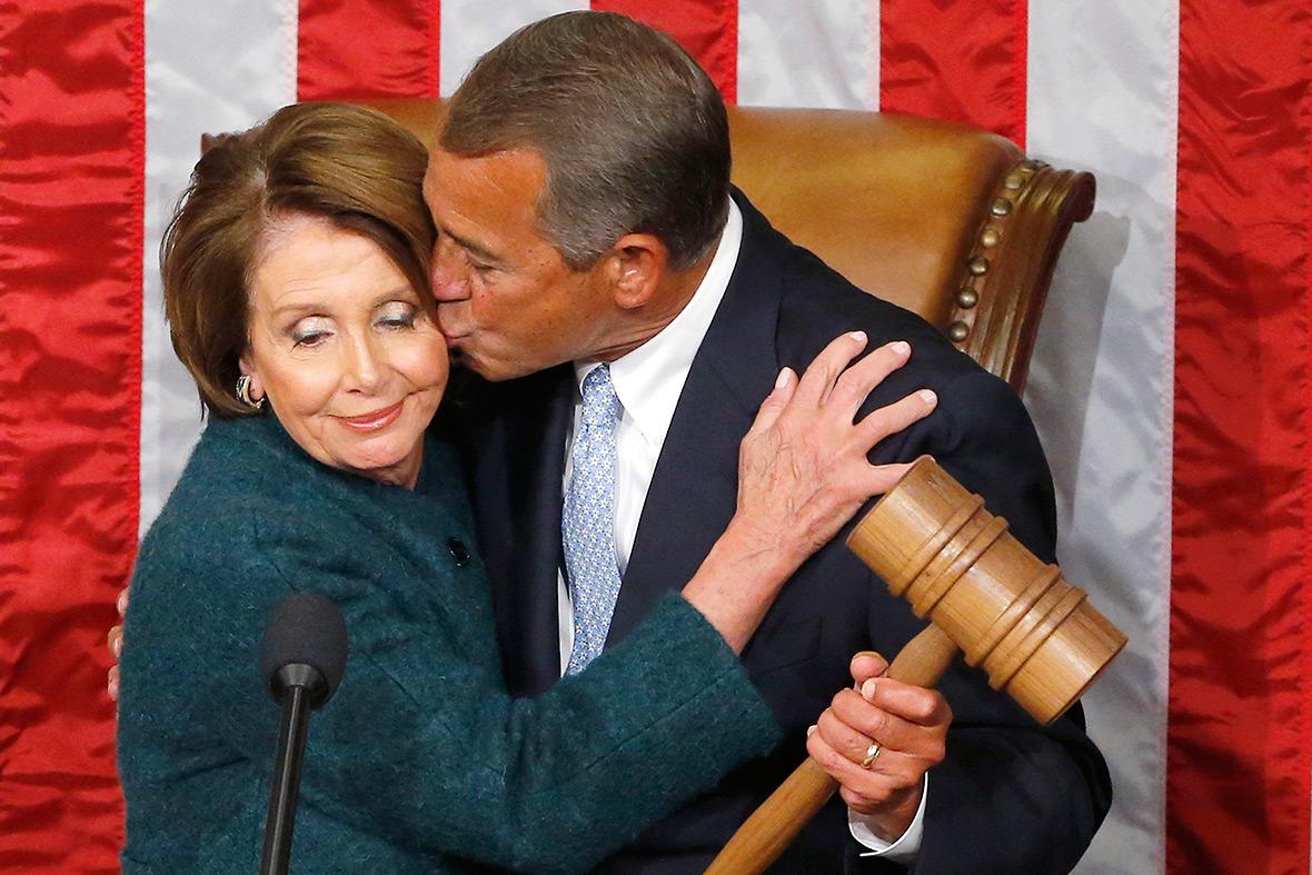 boehner kiss