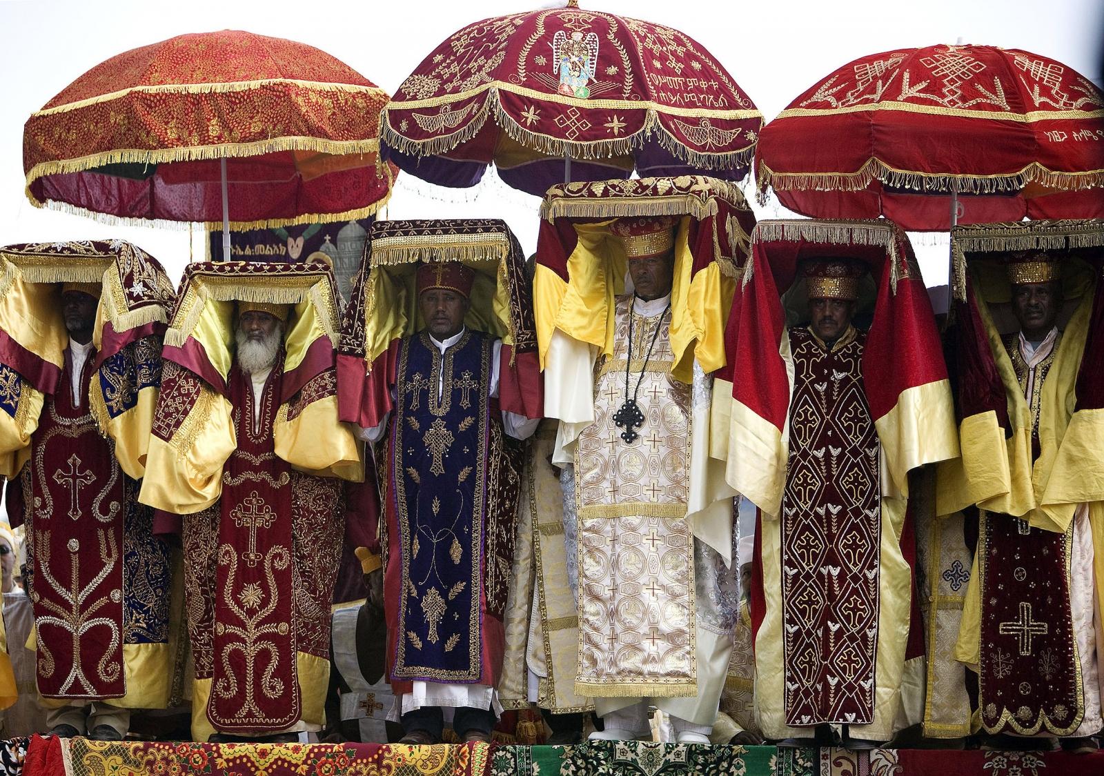 Ethiopia : Nativity celebrations in Addis Ababa