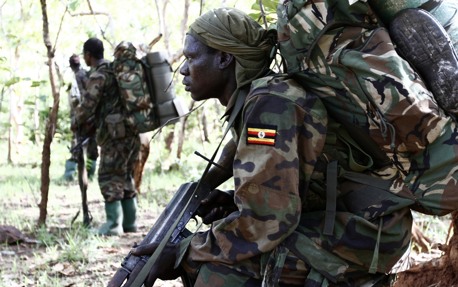 Uganda soldiers