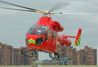London currently has only one emergency helicopter to support 10 million people, and for the next 3 weeks, the air ambulance will be undergoing maintenance