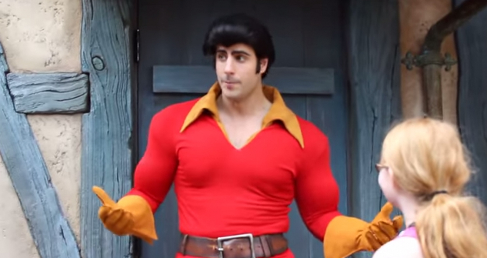 Gaston, a Disney cast member who has gained international popularity for his portrayal of a villain