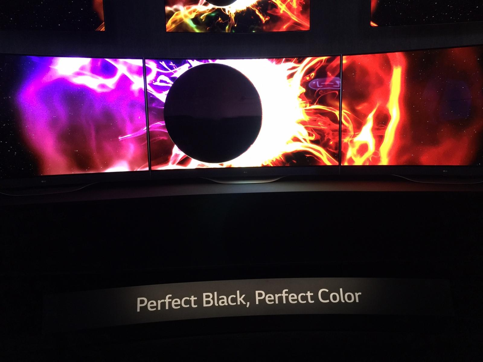 LG Curved 4K OLED TV