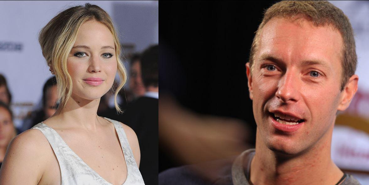 Jennifer Lawrence and Chris Martin