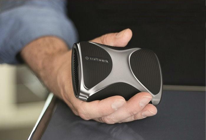 kraftwerk palm-sized generator smartphone charger